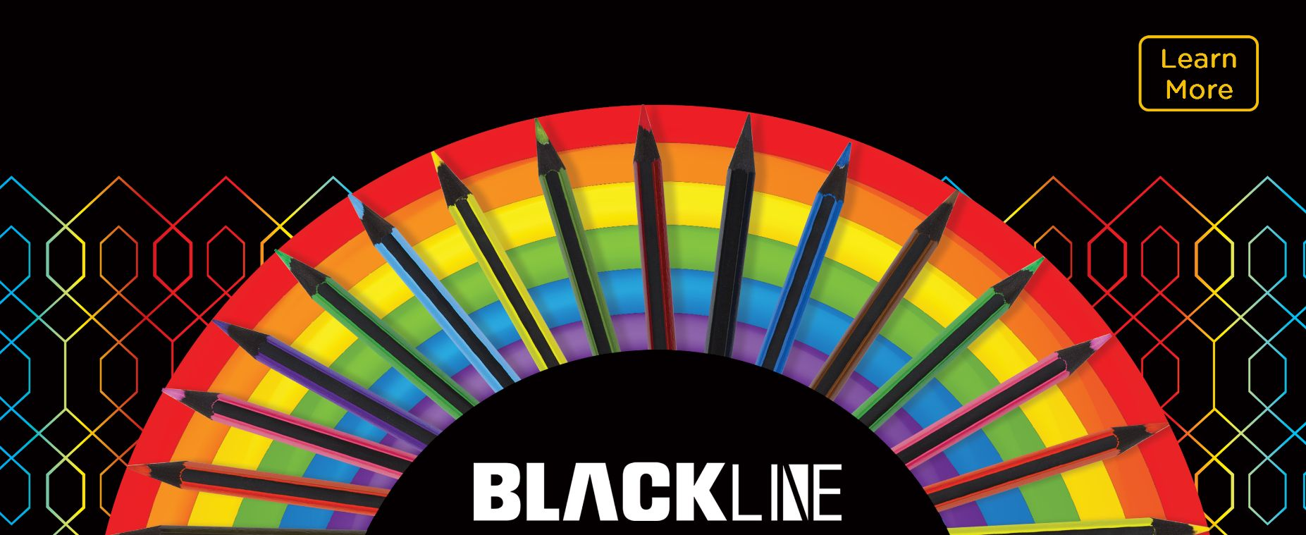 Blackline Coloring Pencils